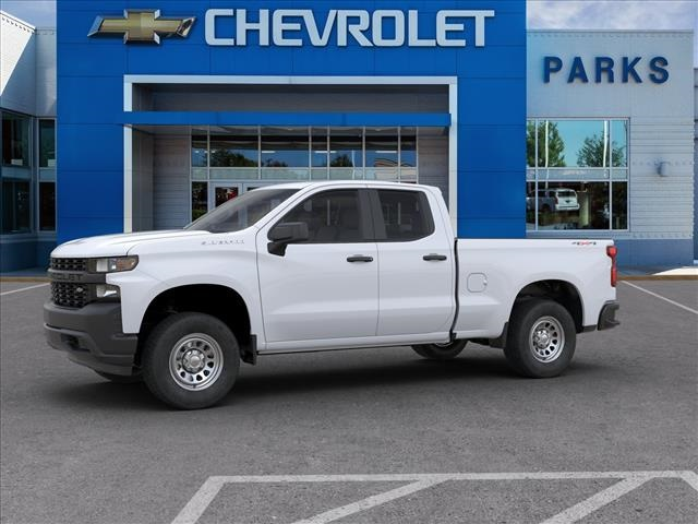 2020 Chevrolet Silverado 1500 Double Cab 4x4, Pickup #FK68040X - photo 3
