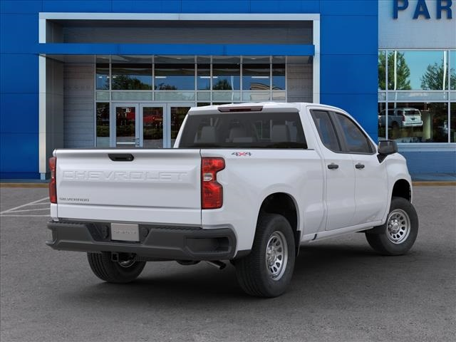 2020 Chevrolet Silverado 1500 Double Cab 4x4, Pickup #FK68040X - photo 2