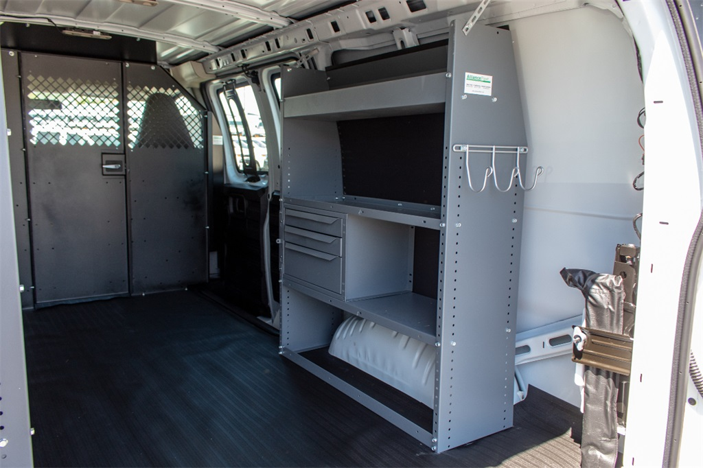 2019 Express 2500 4x2,  Masterack Steel General Service Upfitted Cargo Van #FK68201 - photo 8