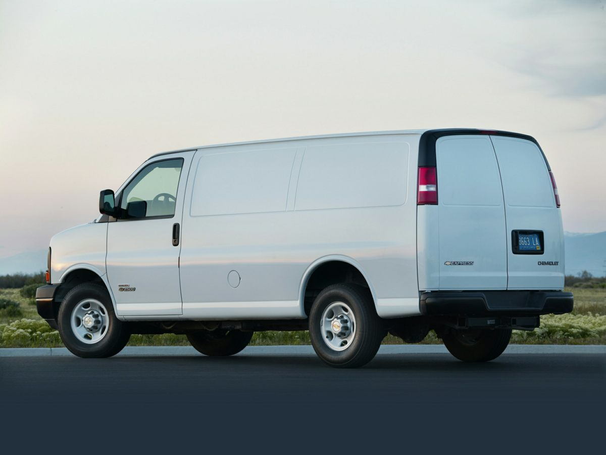 2019 Chevrolet Express 3500 4x2, Sortimo Shelf Staxx Upfitted Cargo Van #FK7036 - photo 30