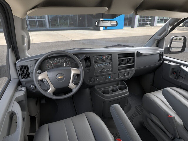 2019 Chevrolet Express 3500 4x2, Sortimo Shelf Staxx Upfitted Cargo Van #FK7036 - photo 10