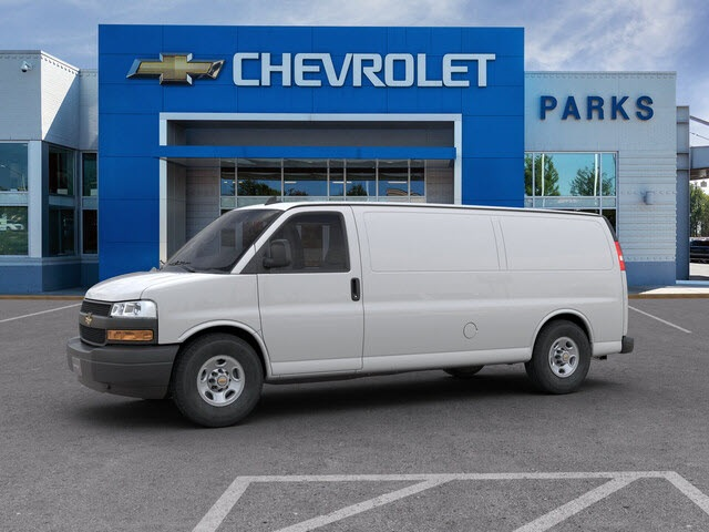2019 Chevrolet Express 3500 4x2, Sortimo Shelf Staxx Upfitted Cargo Van #FK7036 - photo 4