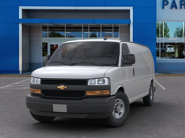 2019 Chevrolet Express 3500 4x2, Sortimo Shelf Staxx Upfitted Cargo Van #FK7036 - photo 3