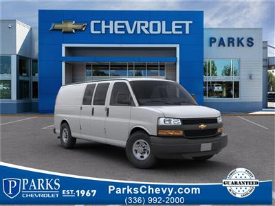 2019 Chevrolet Express 3500 4x2, Sortimo Shelf Staxx Upfitted Cargo Van #FK7036 - photo 1