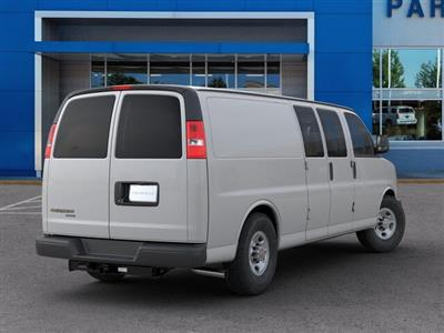 2019 Chevrolet Express 3500 4x2, Sortimo Shelf Staxx Upfitted Cargo Van #FK7036 - photo 2