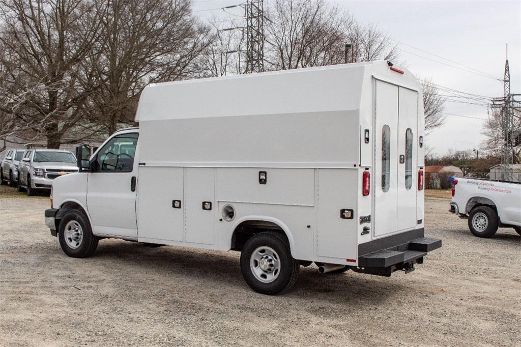 2019 Express 3500 4x2,  Knapheide Service Utility Van #FK7276 - photo 1