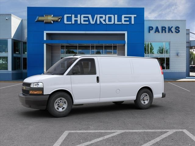 2020 Chevrolet Express 2500 4x2, Masterack Steel General Service Upfitted Cargo Van #FK73788 - photo 3
