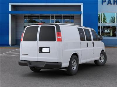 2020 Chevrolet Express 2500 4x2, Masterack Steel General Service Upfitted Cargo Van #FK73925 - photo 2