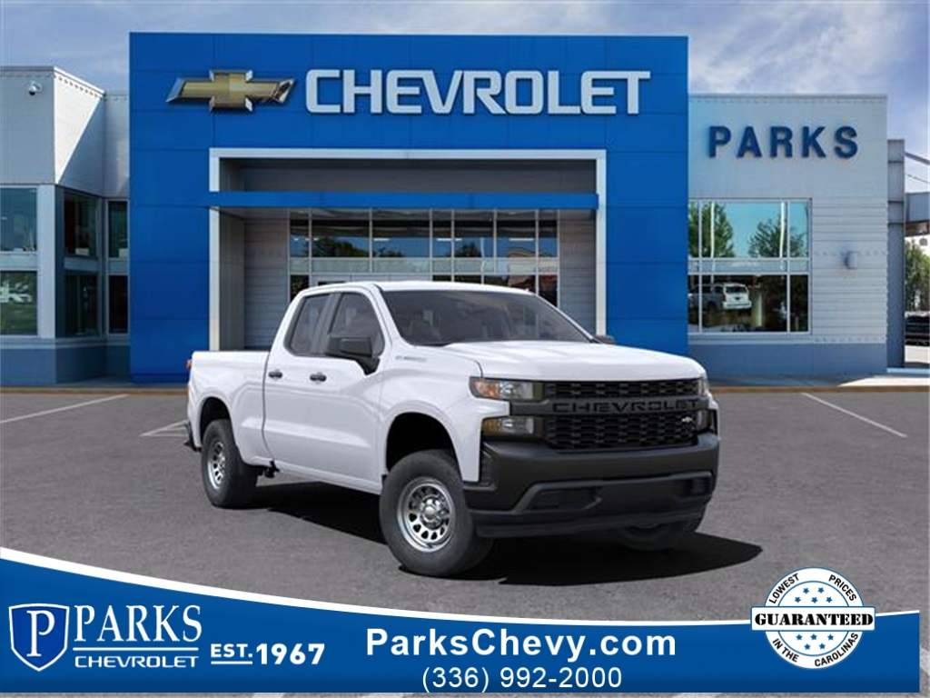 2021 Chevrolet Silverado 1500 Double Cab 4x2, Pickup #FK7446 - photo 1