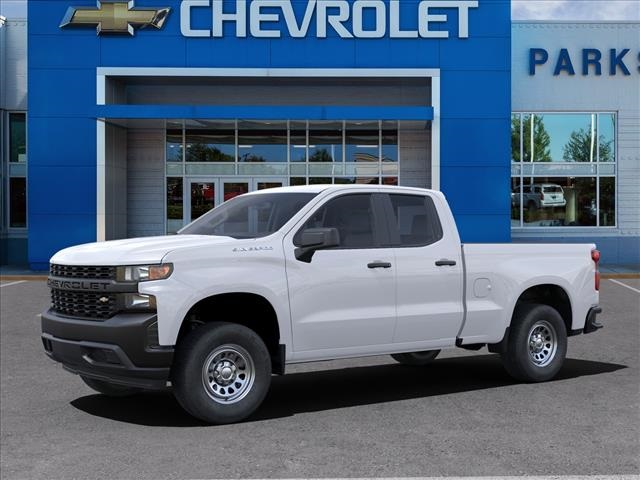 2021 Chevrolet Silverado 1500 Double Cab 4x2, Pickup #FK7446 - photo 3