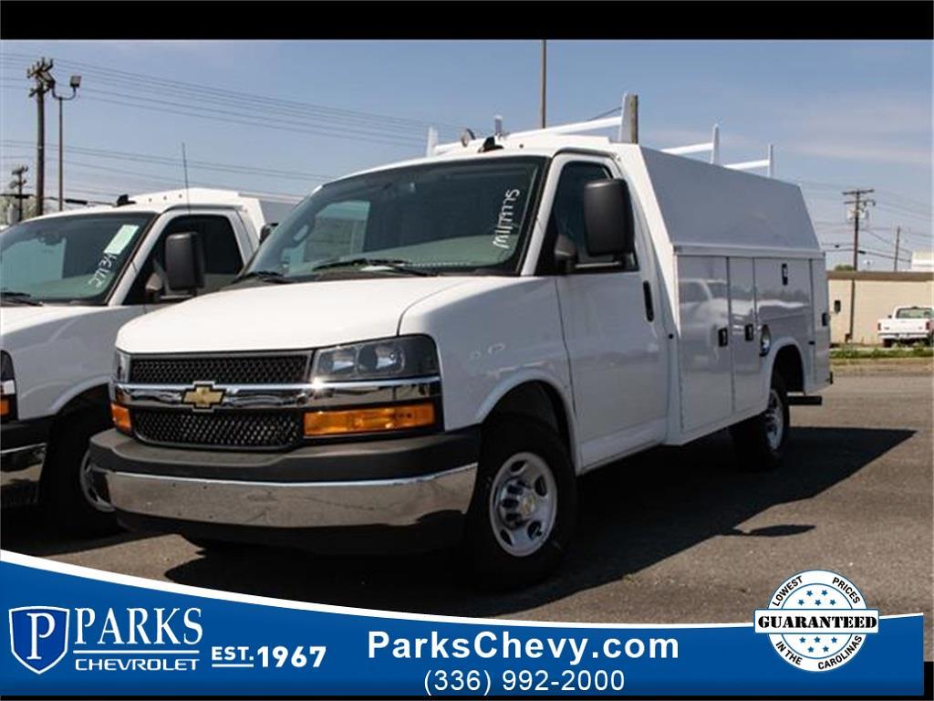 2021 Chevrolet Express 3500 4x2, Knapheide Service Utility Van #FK79775 - photo 1