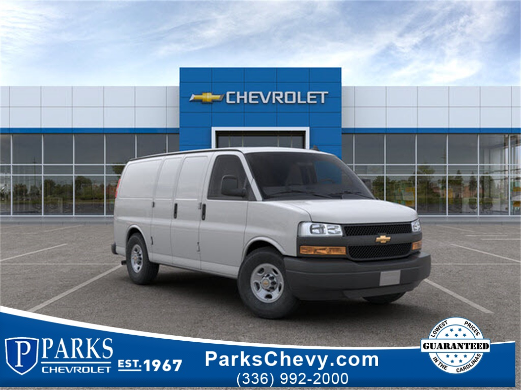 2019 Chevrolet Express 2500 4x2, Sortimo Upfitted Cargo Van #FK8199X - photo 1