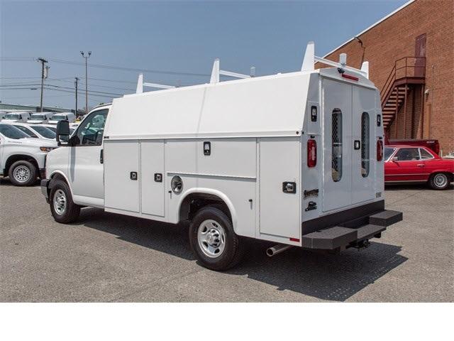 2019 Chevrolet Express 3500 4x2,  Knapheide Service Utility Van #FK85726 - photo 1