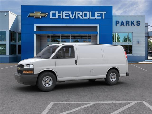 2018 Chevrolet Express 2500 4x2, Masterack Steel General Service Upfitted Cargo Van #FK8646 - photo 4
