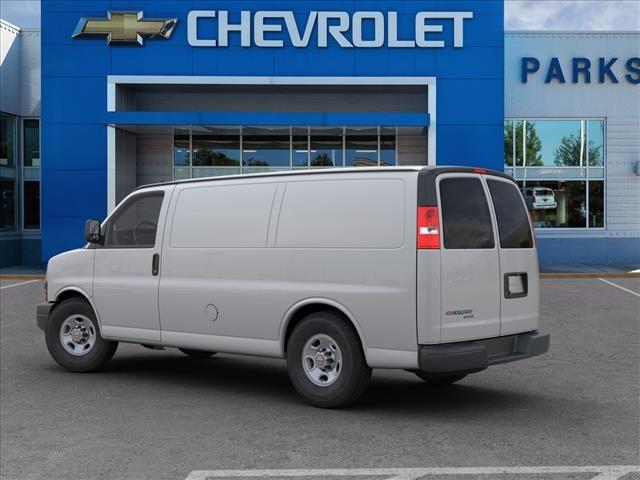 2018 Chevrolet Express 2500 4x2, Masterack Steel General Service Upfitted Cargo Van #FK8646 - photo 5