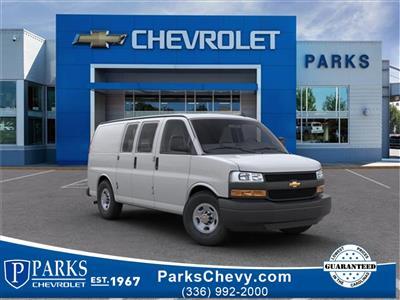 2018 Chevrolet Express 2500 4x2, Masterack Steel General Service Upfitted Cargo Van #FK8646 - photo 1