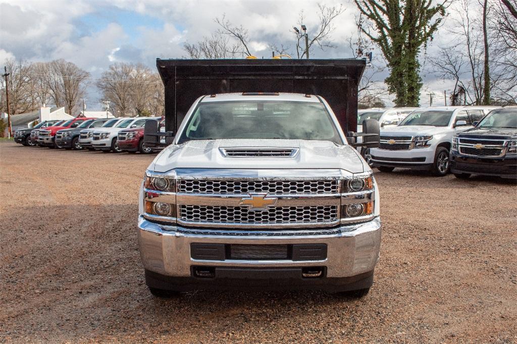 2019 Silverado 3500 Regular Cab DRW 4x2,  Freedom Dump Body #FK9021 - photo 10