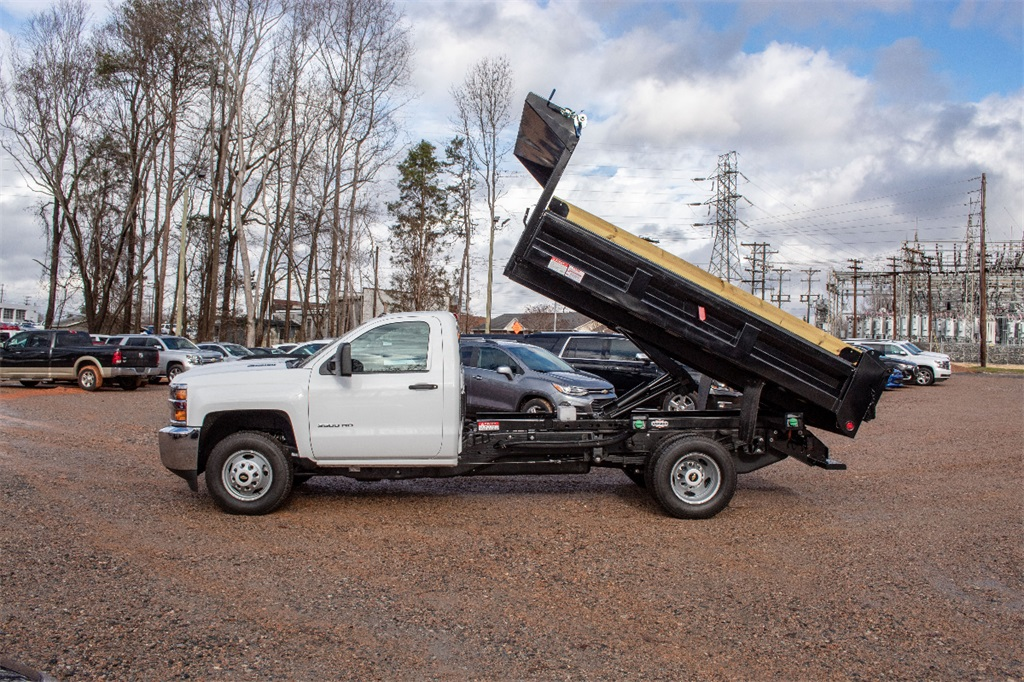 2019 Silverado 3500 Regular Cab DRW 4x2,  Freedom Dump Body #FK9021 - photo 3