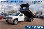 2019 Silverado 3500 Regular Cab DRW 4x2,  Freedom Dump Body #FK9021 - photo 1