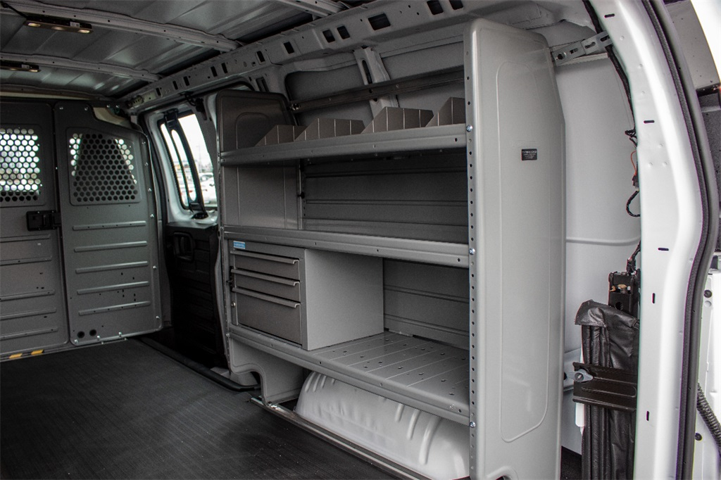 2019 Express 2500 4x2,  Adrian Steel Upfitted Cargo Van #FK9160 - photo 12