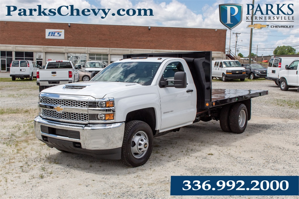 2019 Silverado 3500 Regular Cab DRW 4x2,  Freedom Platform Body #FK94720 - photo 1