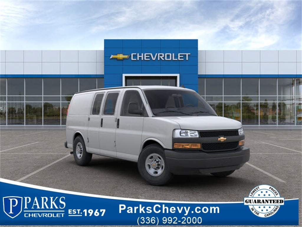 2018 Chevrolet Express 2500 4x2, Masterack Upfitted Cargo Van #FK9549 - photo 1