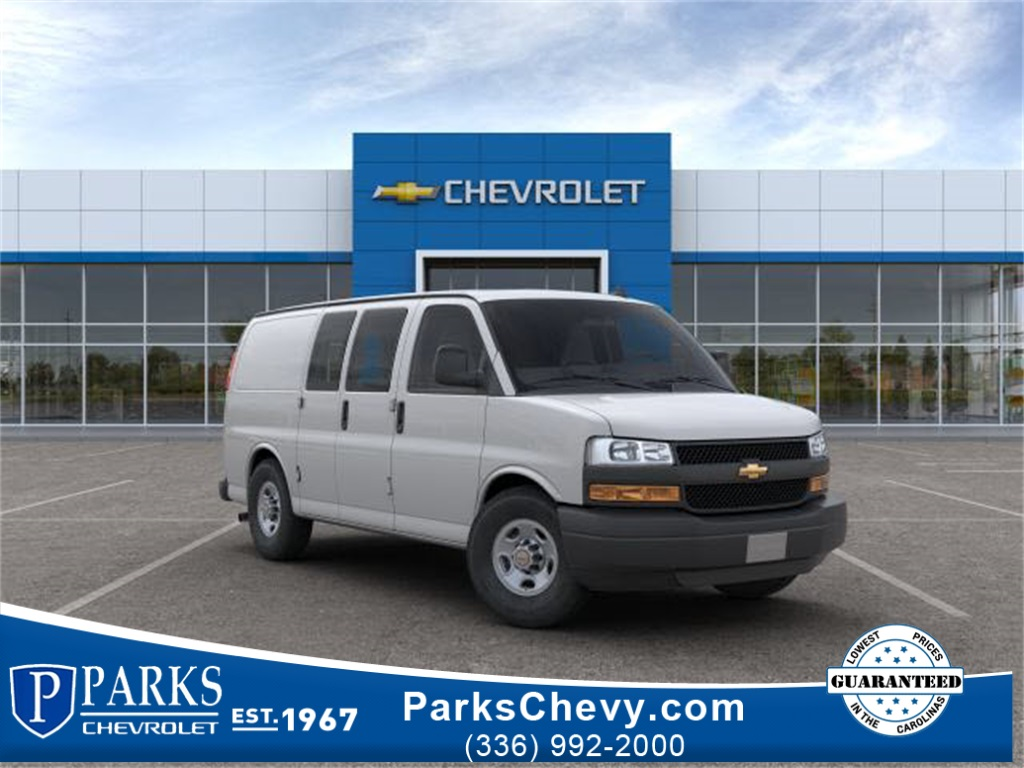 2019 Chevrolet Express 2500 4x2, Sortimo Shelf Staxx Upfitted Cargo Van #FK95600 - photo 1