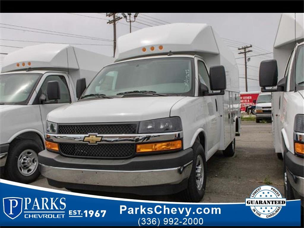 2021 Chevrolet Express 3500 4x2, Knapheide Service Utility Van #FK9675 - photo 1