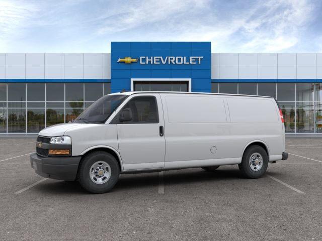 2019 Chevrolet Express 3500 4x2, Sortimo Shelf Staxx Upfitted Cargo Van #FK98795 - photo 4