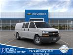 2019 Chevrolet Express 3500 4x2, Sortimo Shelf Staxx Upfitted Cargo Van #FK98795 - photo 1