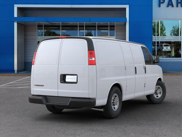 2020 Chevrolet Express 2500 4x2, Masterack Steel General Service Upfitted Cargo Van #FK9893 - photo 2