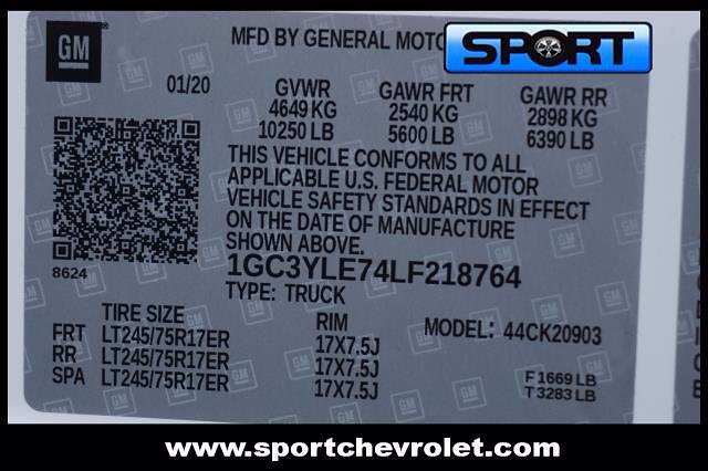 2020 Silverado 2500 Regular Cab 4x4,  Warner Truck Bodies Select Pro Service Body #LF218764 - photo 12