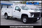 2020 Silverado 2500 Regular Cab 4x4,  Warner Truck Bodies Select Pro Service Body #LF218764 - photo 9