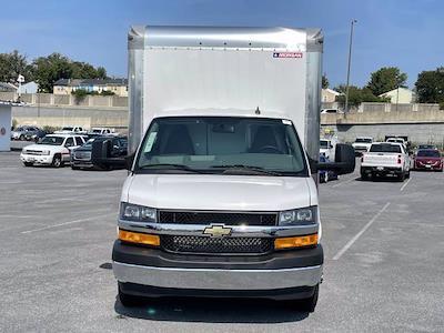 2021 Express 3500 4x2,  Morgan Truck Body Parcel Aluminum Cutaway Van #M1238701 - photo 10