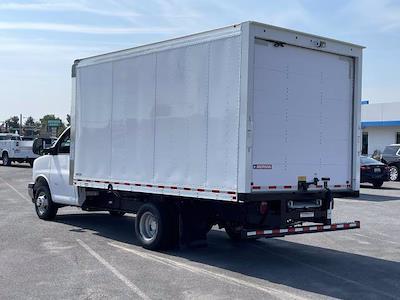 2021 Express 3500 4x2,  Morgan Truck Body Parcel Aluminum Cutaway Van #M1238701 - photo 2