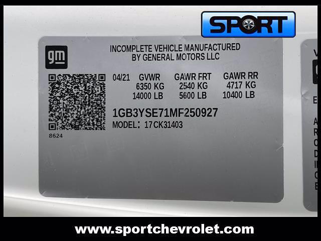 2021 Silverado 3500 Regular Cab 4x4,  Rugby Landscape Dump #MF250927 - photo 14