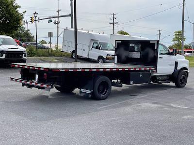 2021 Silverado 5500 Regular Cab DRW 4x2,  Morgan Truck Body Prostake Platform Body #MH803614 - photo 2
