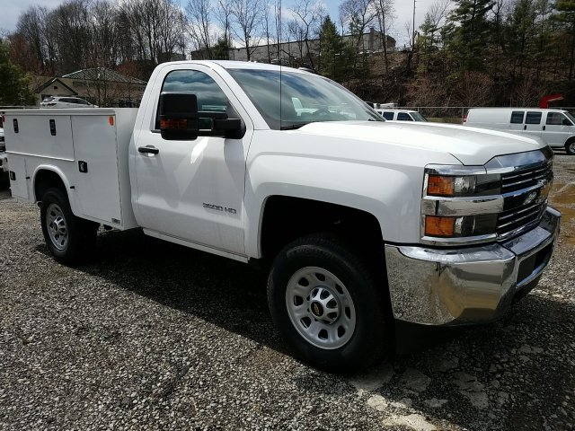 2017 Silverado 3500 Regular Cab 4x4, Knapheide Service Body #255735 - photo 3