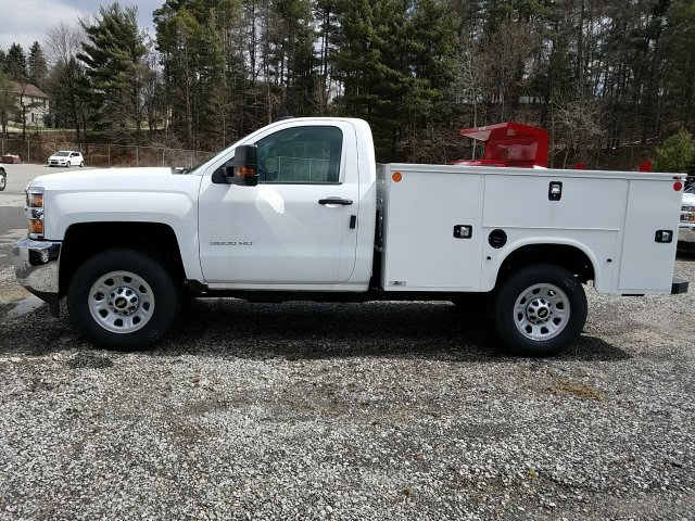 2017 Silverado 3500 Regular Cab 4x4, Knapheide Service Body #255735 - photo 5