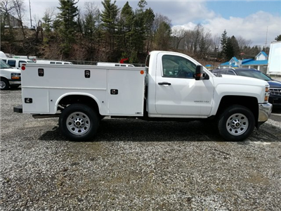 2017 Silverado 3500 Regular Cab 4x4, Knapheide Service Body #255735 - photo 8