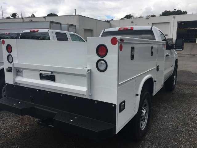 2017 Silverado 3500 Regular Cab 4x4, Knapheide Service Body #HZ250623 - photo 7