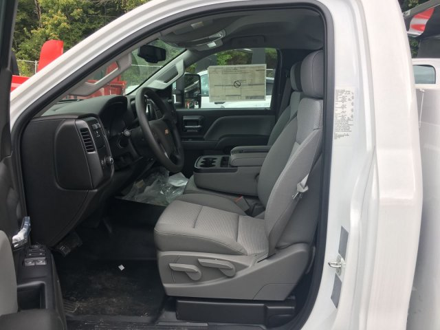 2017 Silverado 3500 Regular Cab 4x4, Knapheide Service Body #HZ250623 - photo 8