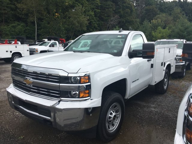 2017 Silverado 3500 Regular Cab 4x4, Knapheide Service Body #HZ250623 - photo 1