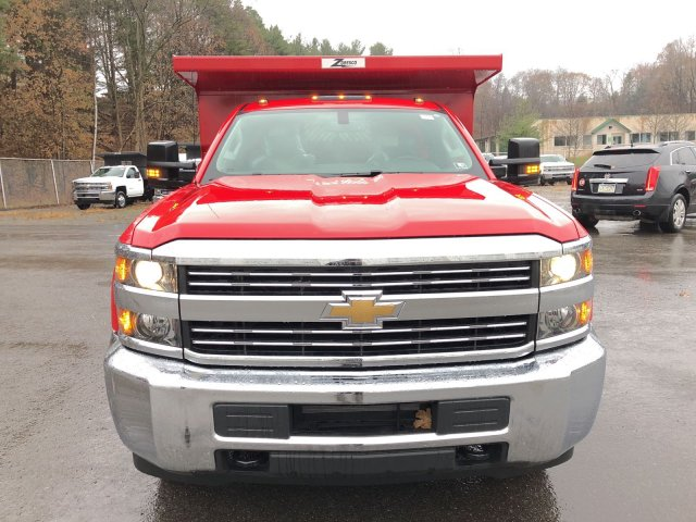 2017 Silverado 3500 Regular Cab DRW 4x4, Dump Body #HZ318074 - photo 4