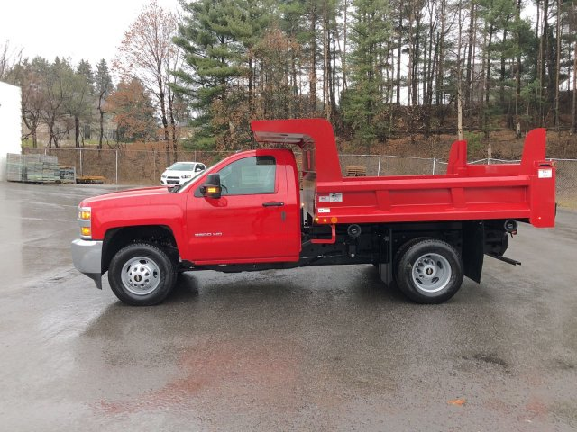 2017 Silverado 3500 Regular Cab DRW 4x4, Dump Body #HZ318074 - photo 5