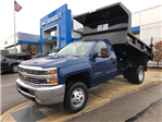 2017 Silverado 3500 Regular Cab DRW 4x4, Dump Body #HZ318637 - photo 1