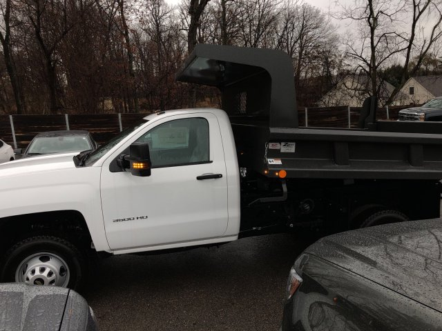2017 Silverado 3500 Regular Cab DRW 4x4, Dump Body #HZ322161 - photo 5