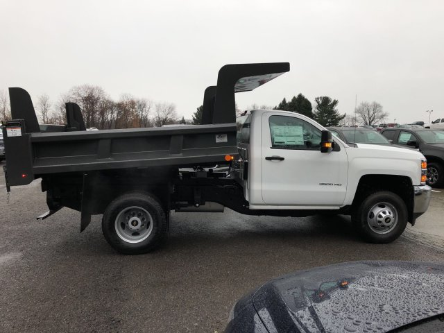 2017 Silverado 3500 Regular Cab DRW 4x4, Dump Body #HZ322161 - photo 8