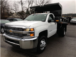 2017 Silverado 3500 Regular Cab DRW 4x4, Dump Body #HZ322161 - photo 1