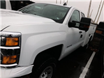 2017 Silverado 3500 Double Cab 4x4 Service Body #HZ371694 - photo 5